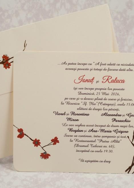 Invitatii Nunta 10165 Cele Mai Cumparate Invitatii