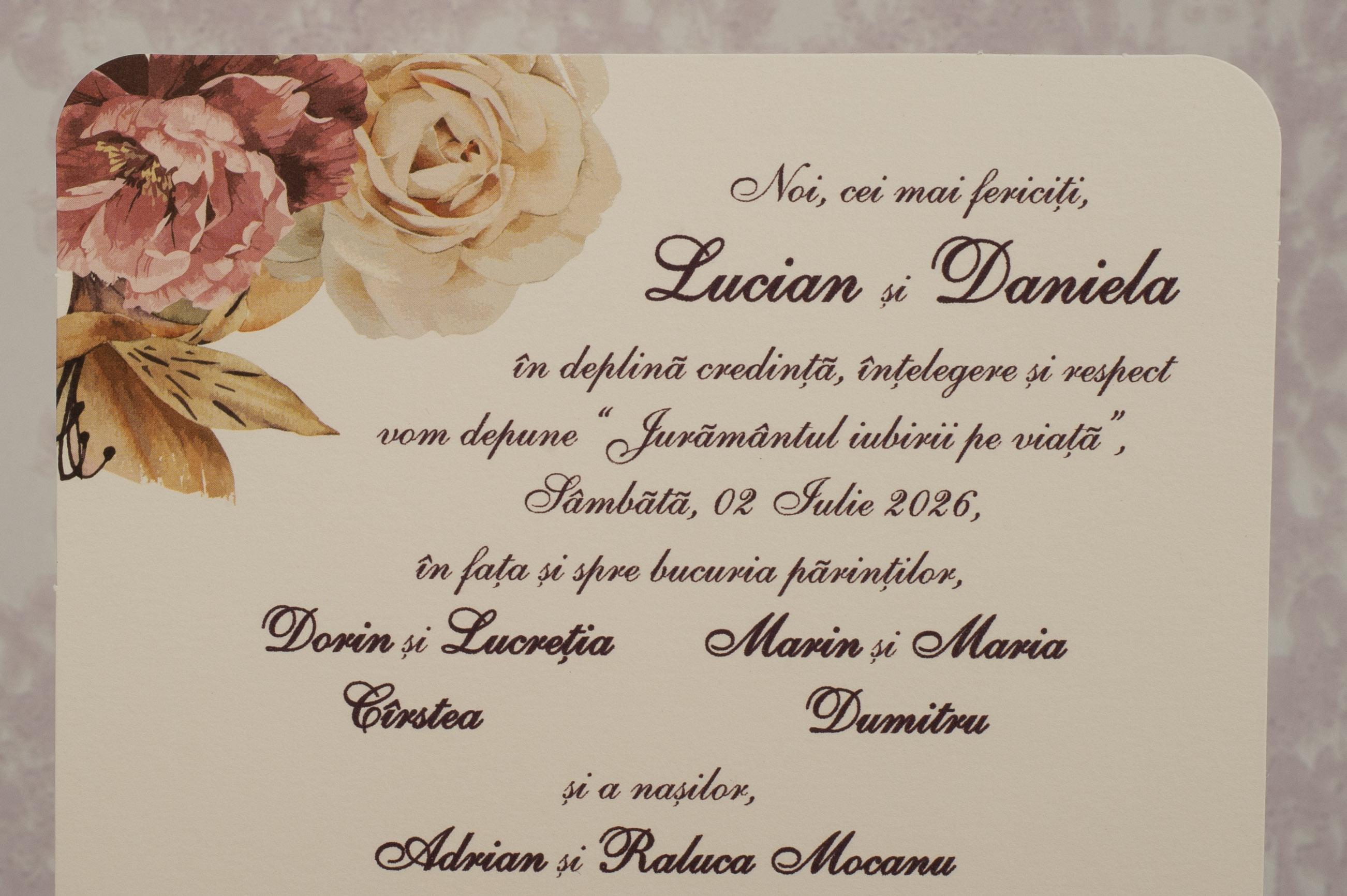 Invitatii Nunta 2182 Cele Mai Cumparate Invitatii