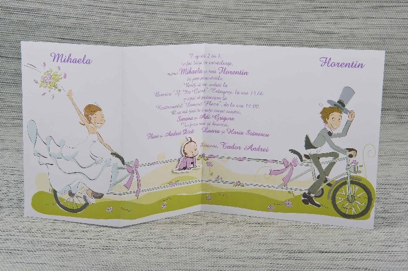 Invitatii Nunta Si Botez 1049